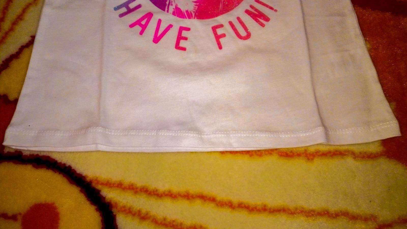 Childrens Place: Легкий топик для девочки 5-6 лет, размер S
