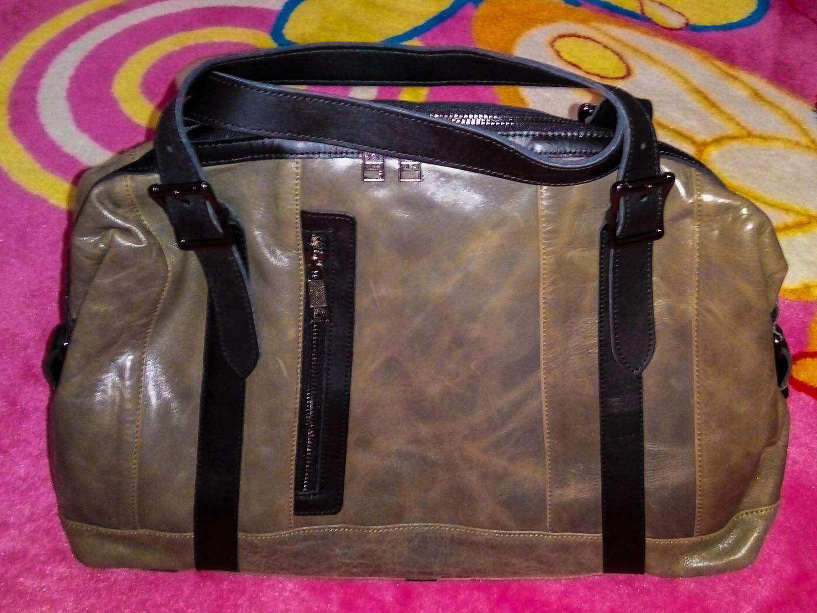 Кожаная сумка с Amazon