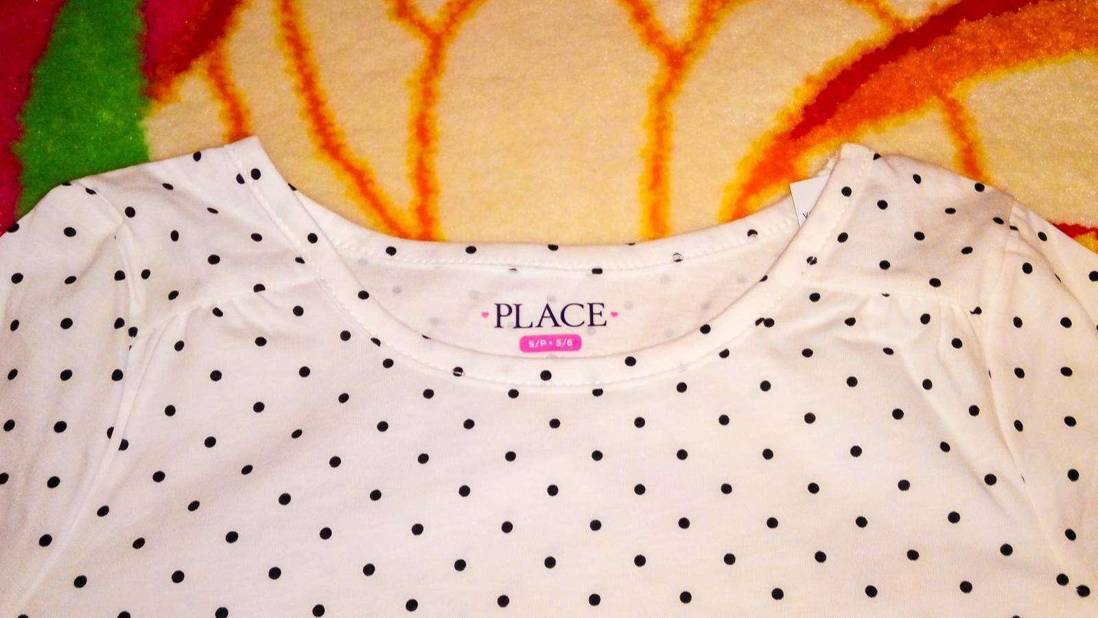 Childrens Place: Кофточка в горошек для девочки, размер S для 5-6 лет