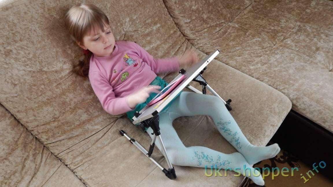 Tmart: Полезный столик для хорошего времяпровождения за Вашим ноутбуком и не только...