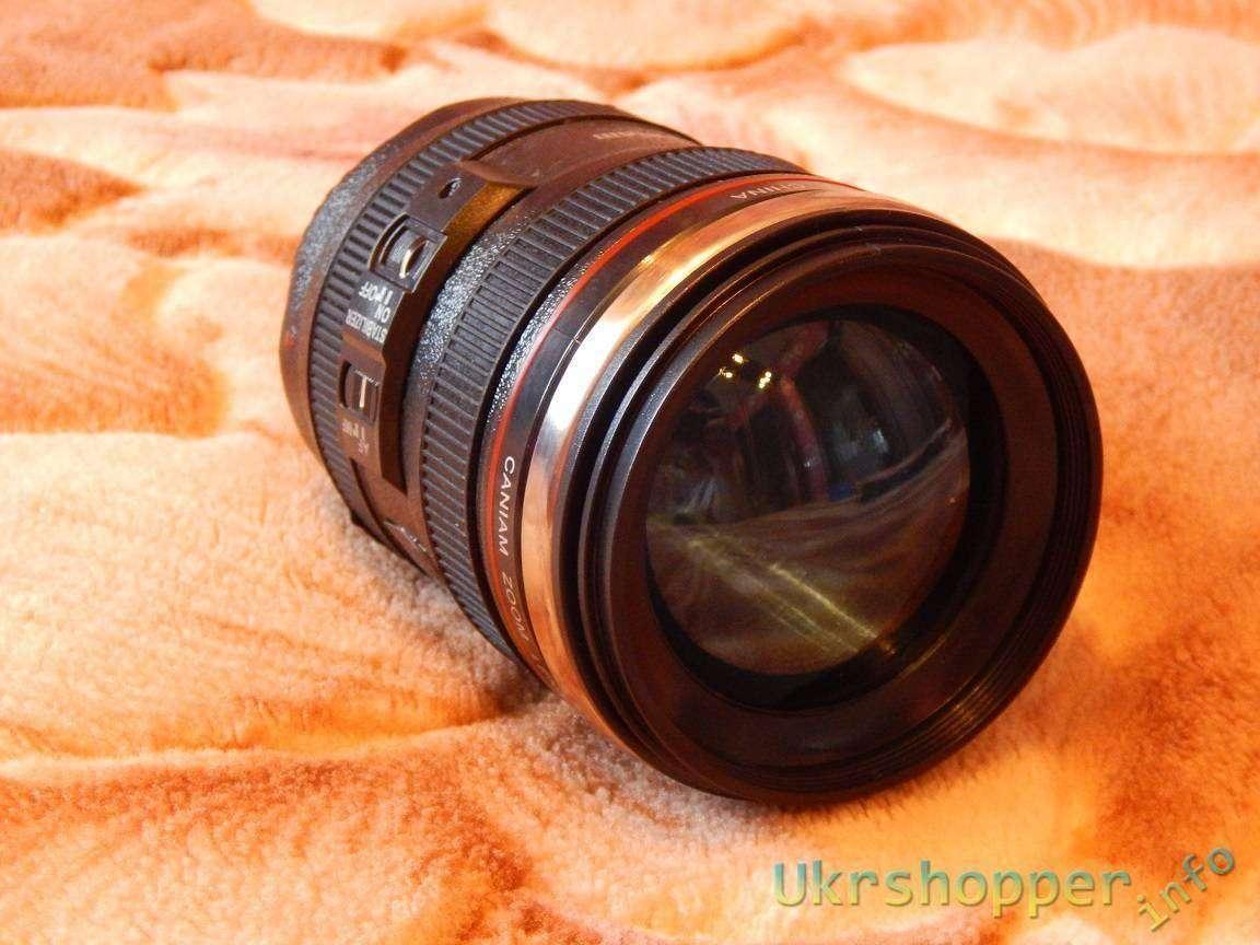 GearBest: Моя любимая кружка в виде объектива фотоаппарата