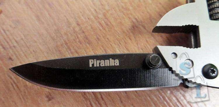 Banggood: Обзор и тестирование хищного Multi-tool 'Piranha'