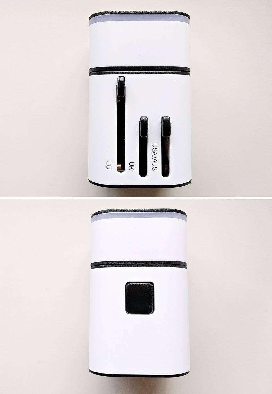 Banggood: Универсальный международный адаптер + блок питания на 2 USB