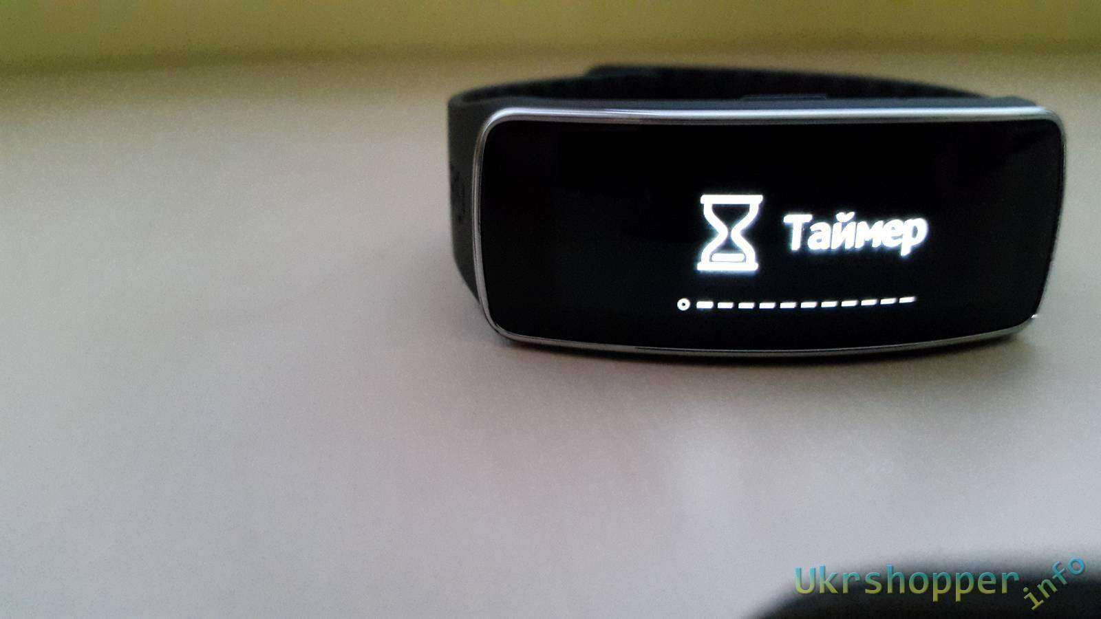 Розетка: Samsung galaxy gear fit Умный браслет Часть 2
