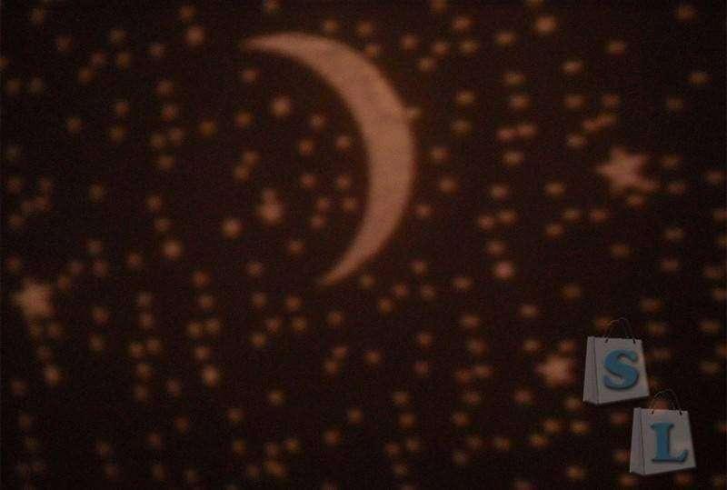 TinyDeal: Светильник с проекцией ночного неба