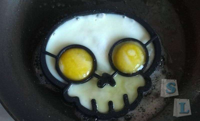 GearBest: Форма черепа для яичницы
