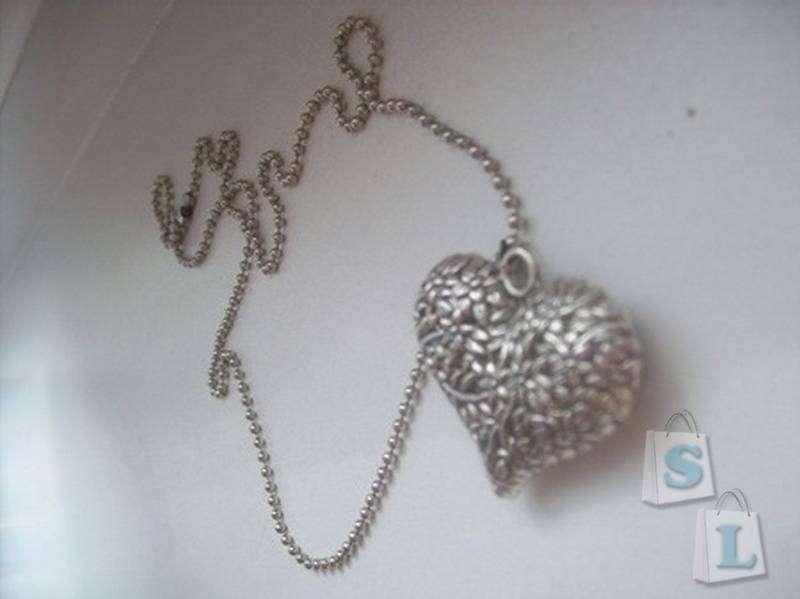 TinyDeal: Сердечко на цепочке