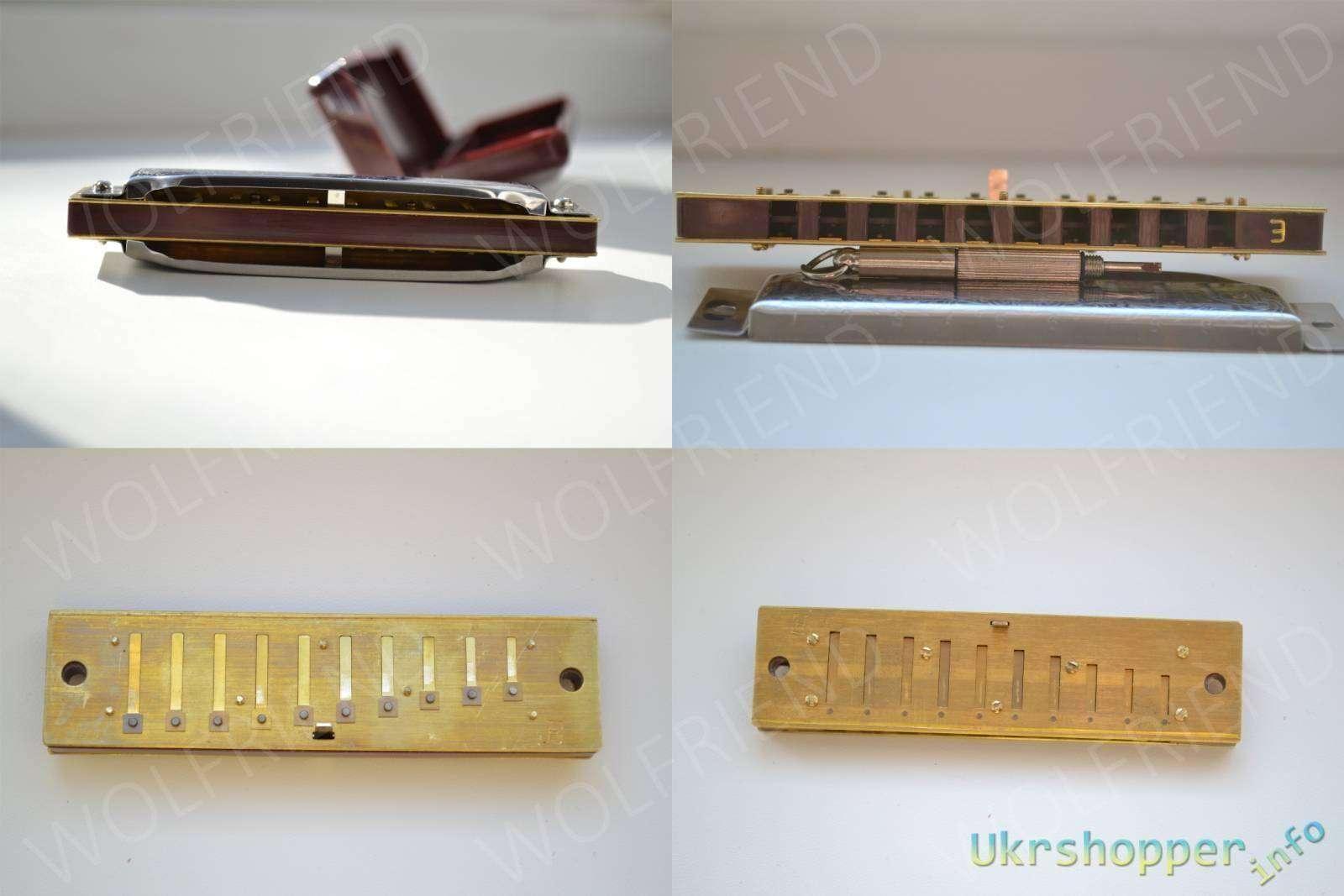 Banggood: Музыкант с гармошкой, поиграй немножко, или губная гармошка SUZUKI 1072 Harmonica