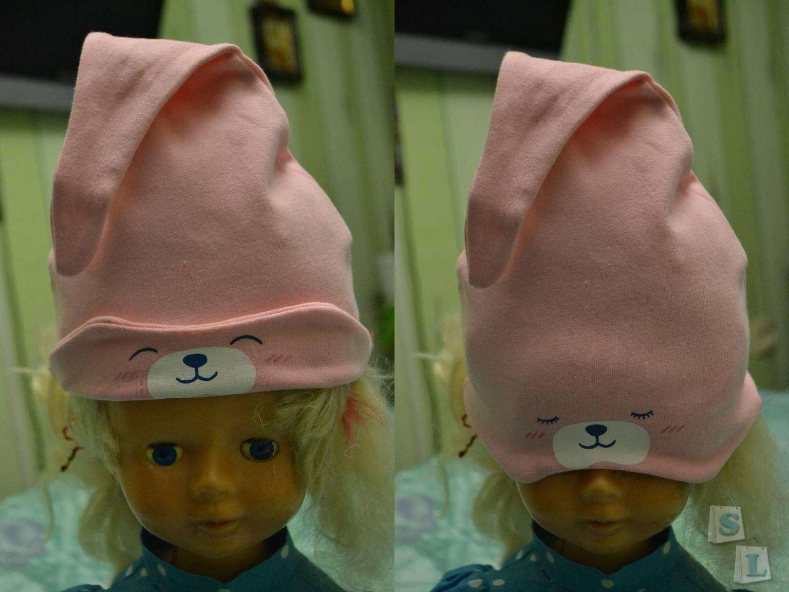 Aliexpress: Детская 'мими' шапочка