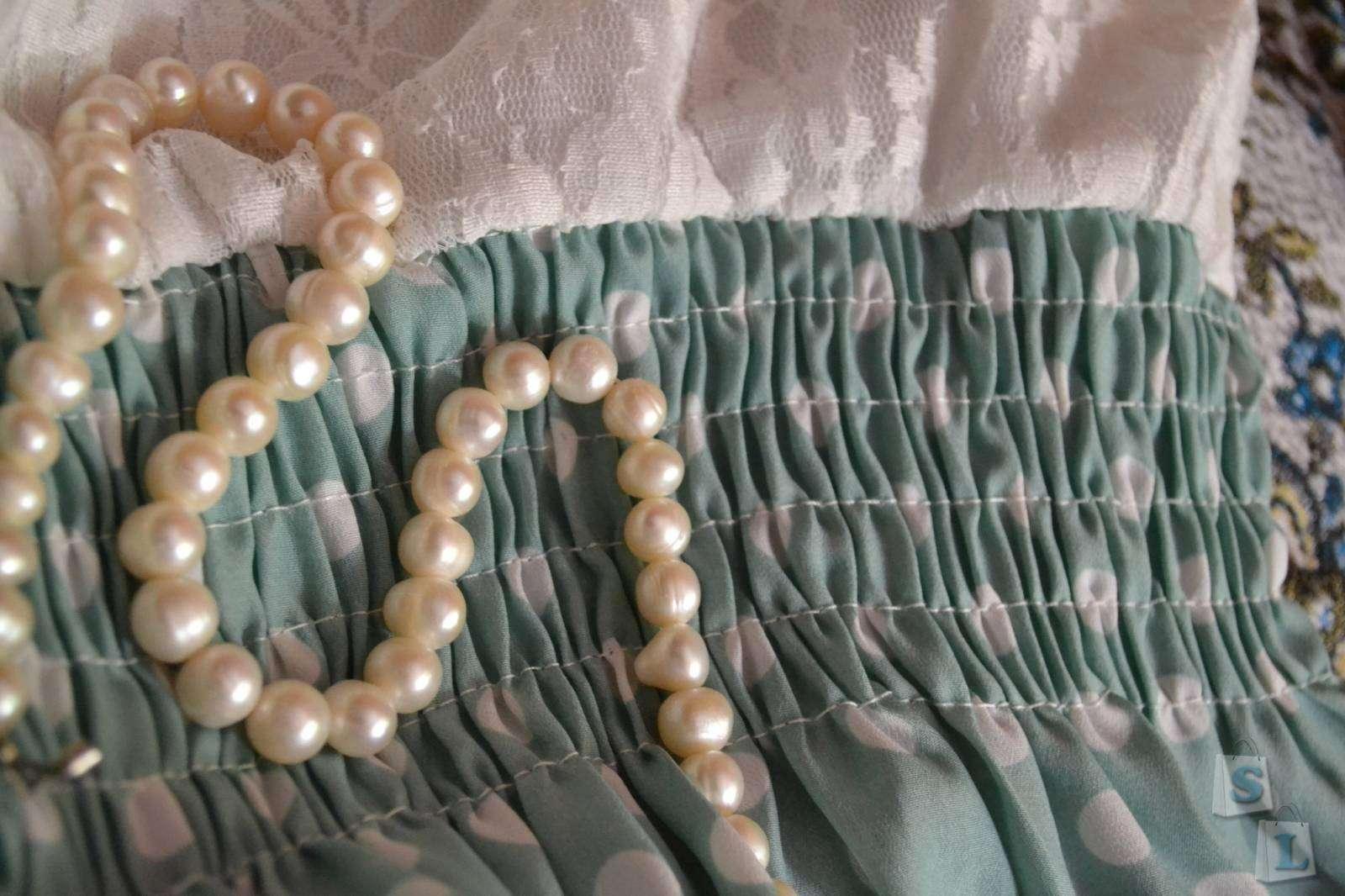 Aliexpress: Летнее женское платье в горошек