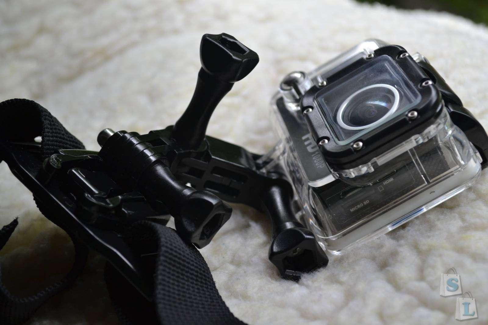 GearBest: Amkov AMK5000 Action camera - WiFi, 1080P FHD, Sunplus 6330M Chipset
