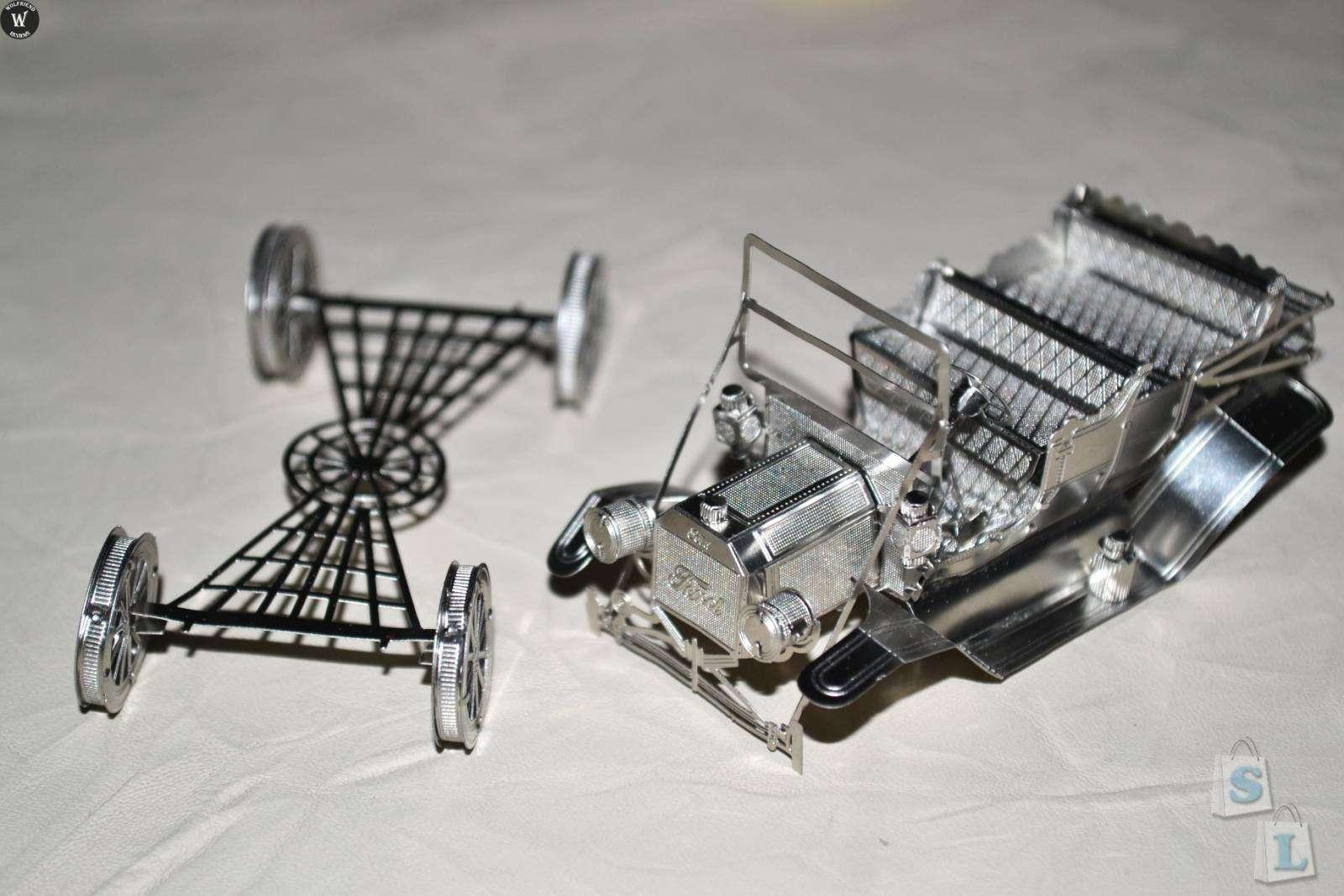 ChinaBuye: Металлический 3D пазл Ford Tin Lizzy, созданный самим Дьяволом