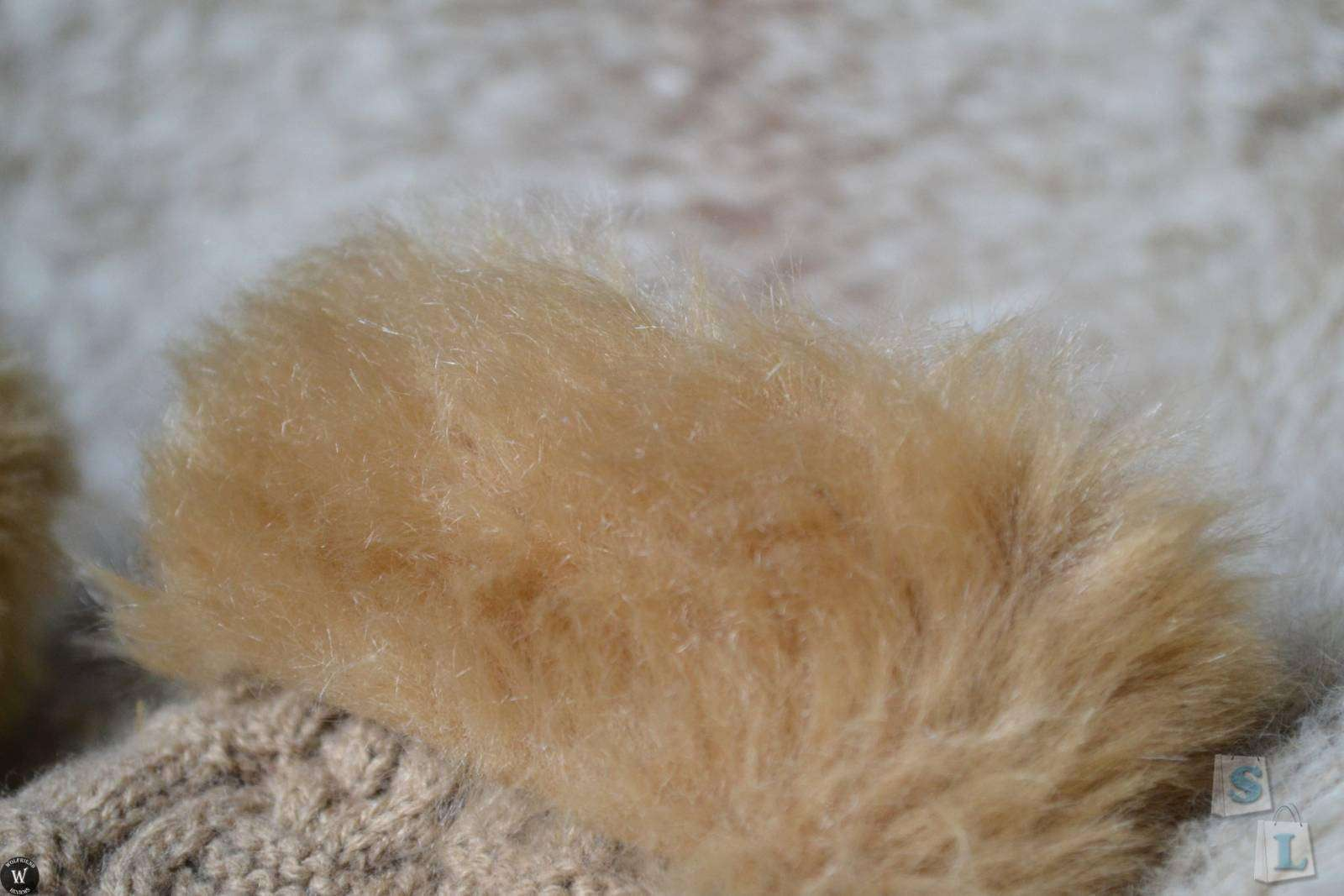 ChinaBuye: Женские митенки с искусственным мехом