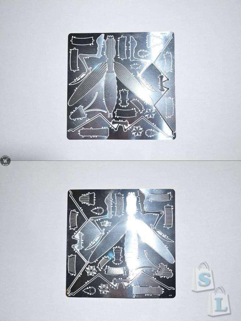 ChinaBuye: 'Богомол', металлический 3D пазл в виде насекомого