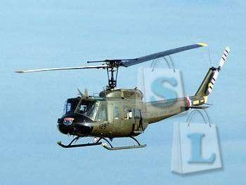 ChinaBuye: 'В небесах на вертолете...', металлический 3D пазл Huey Helicopter
