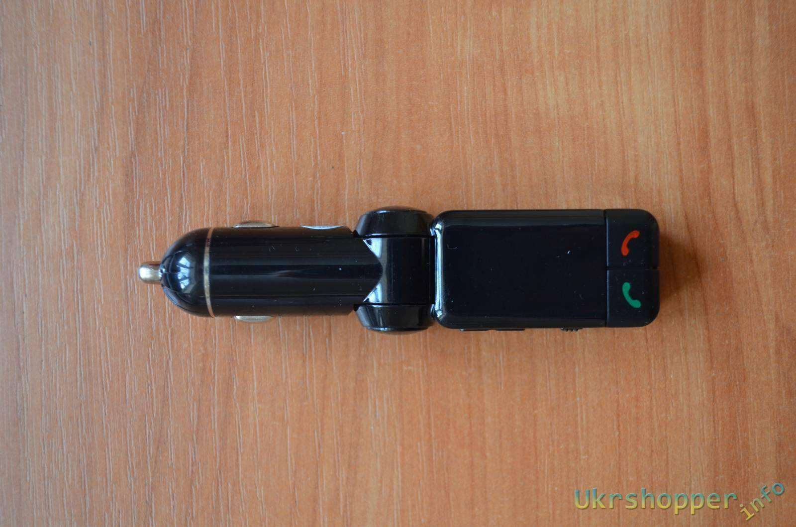 Banggood: FM модулятор с Bluetooth для автомобиля