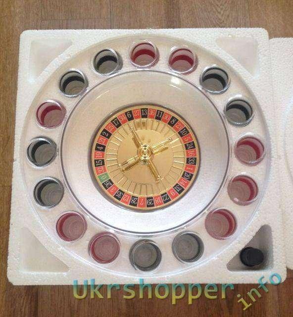 Aliexpress: Chupitos ruleta или пьяная рулетка
