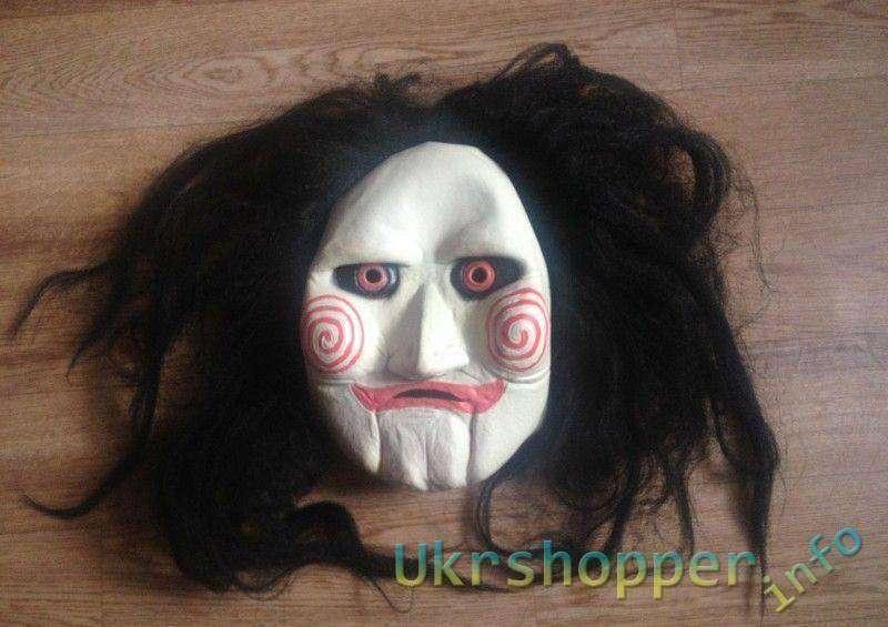 Aliexpress: Отличная маска из х/ф 'Пила' Saw Jigsaw Puppet Mask
