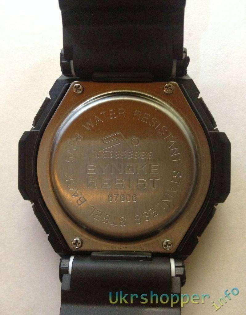 Aliexpress: Дешевые часы Synoke и тест на водонепроницаемость