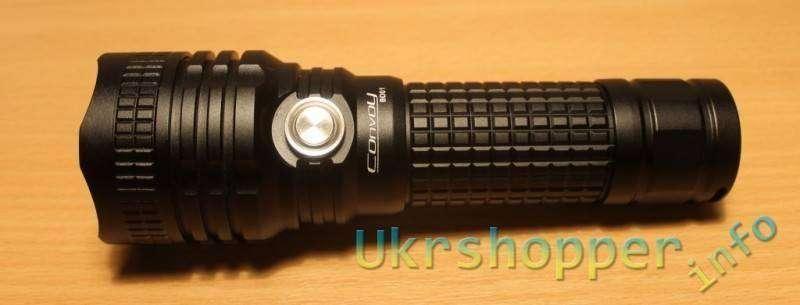 Aliexpress: Новый отличный дальнобойный фонарь Convoy BD01 7135*8 XML2-U2