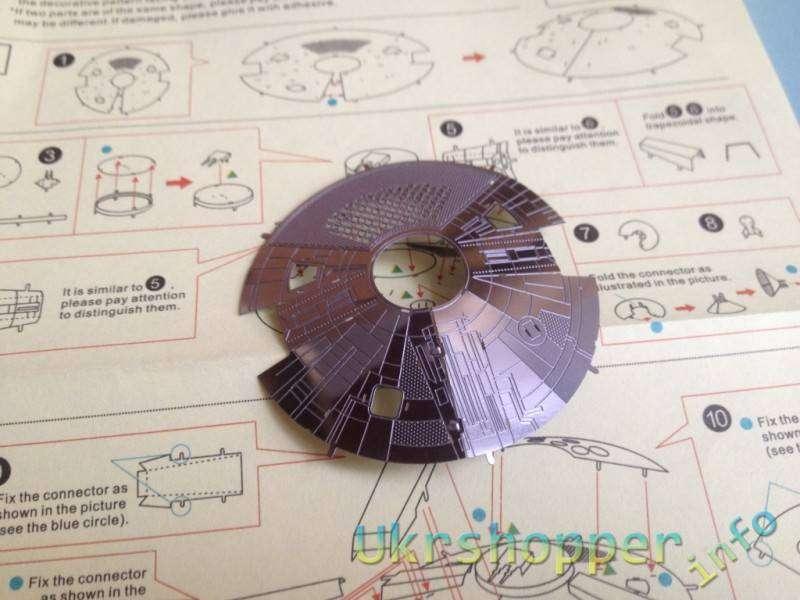Aliexpress: Металлический конструктор Millennium Falcon из Звездных войн