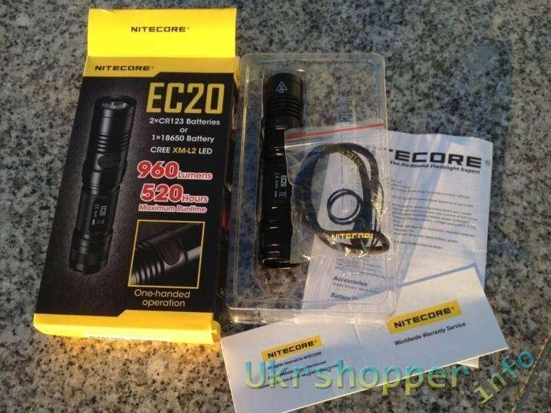 Другие - Китай: Замораживаем и тестируем фонарик NITECORE EC20