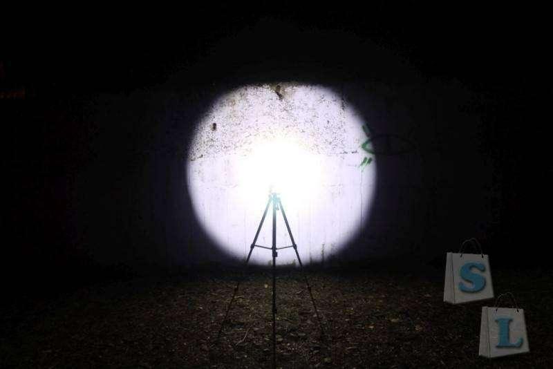 Aliexpress: Тестируем тактический фонарик Nitecore P16