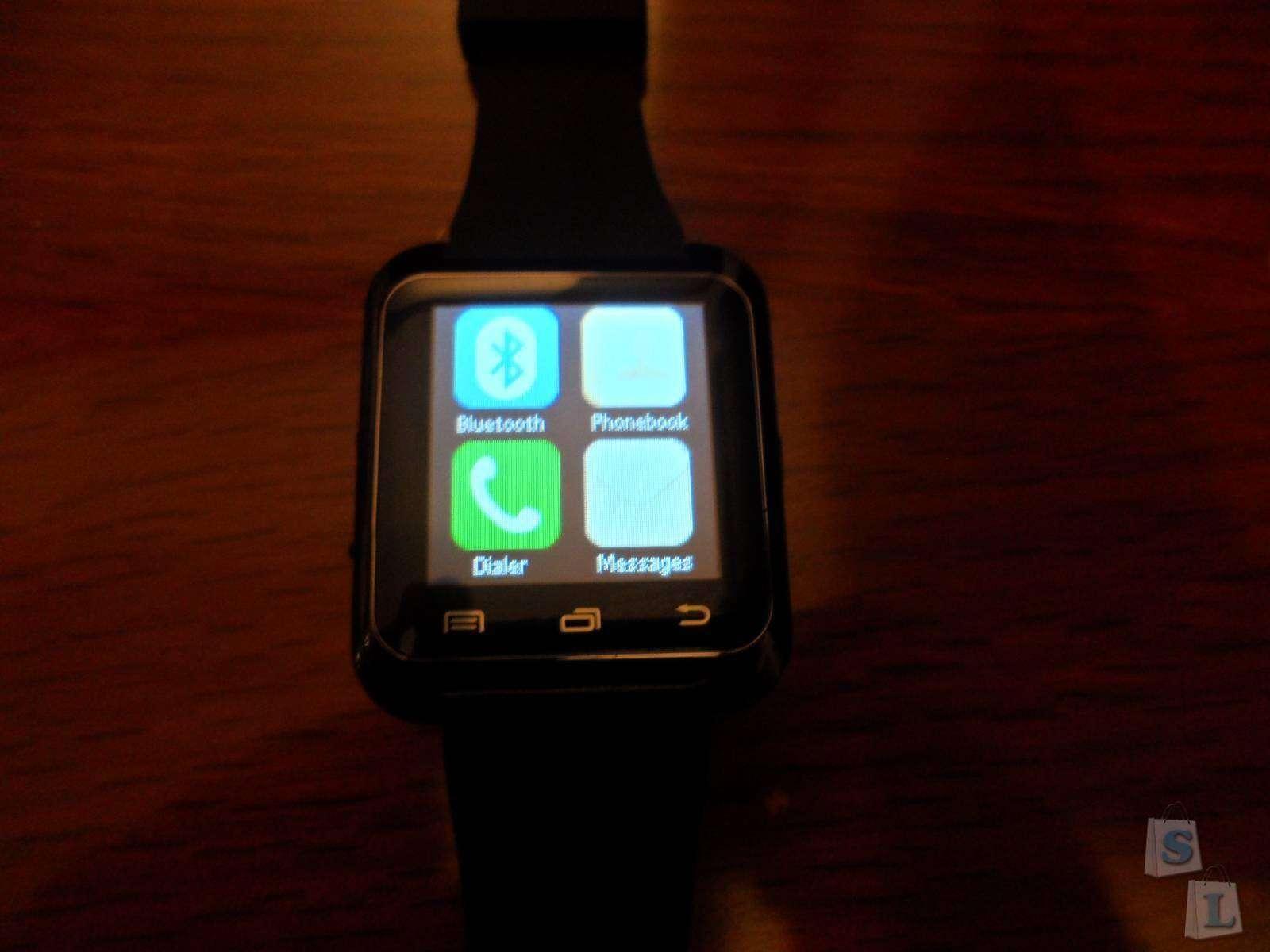 TVC-Mall: Обзор на Smart watch U80 из поднебесной