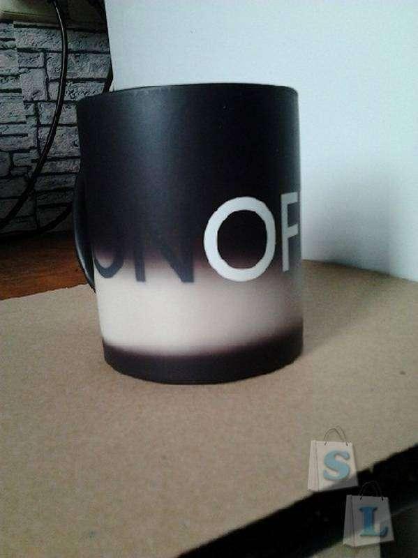 TinyDeal: Чашка меняющая цвет