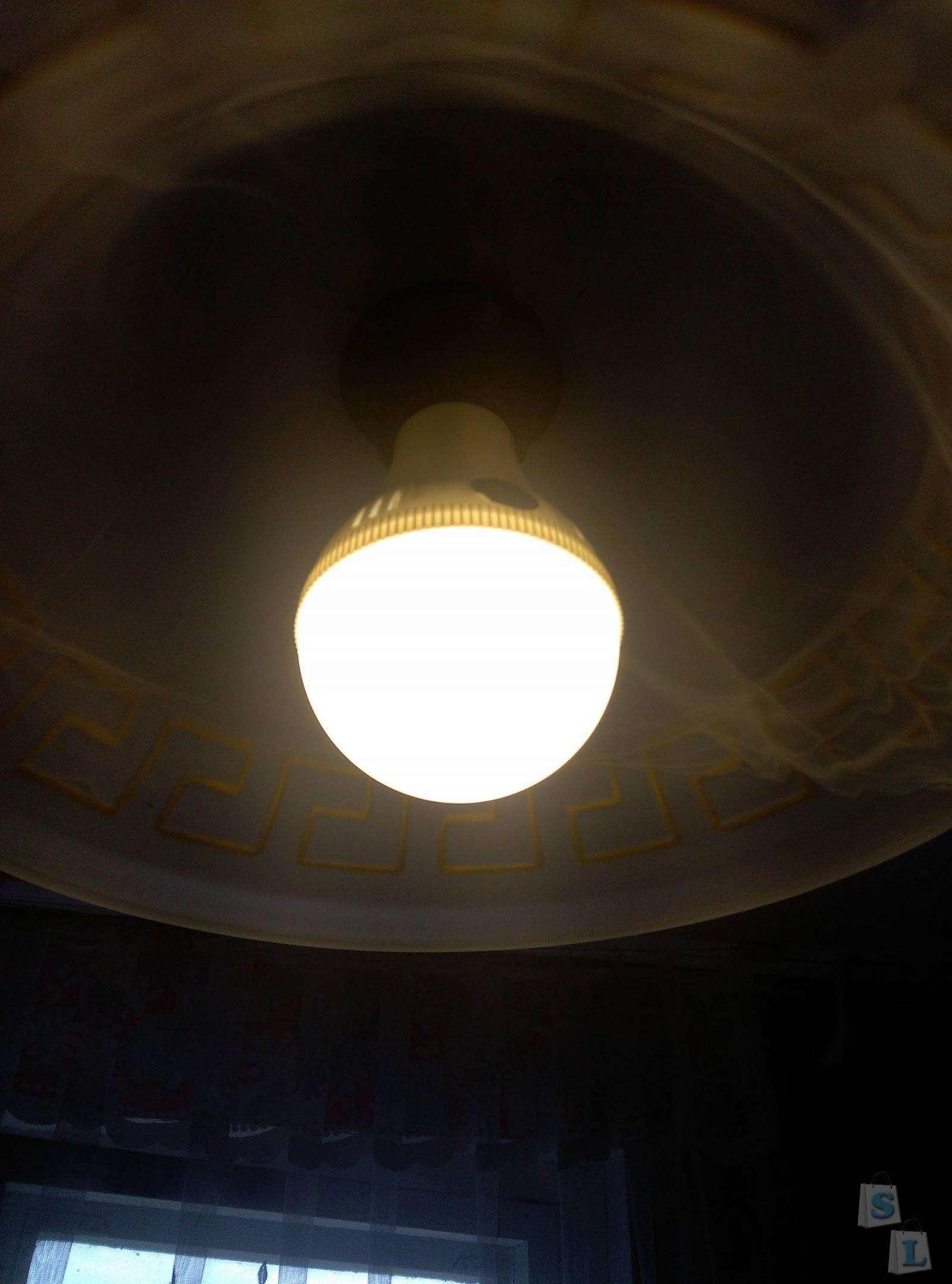 BuyinCoins: Дешевая и не плохая светодиодная лампочка