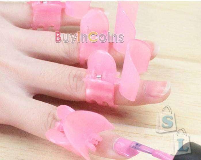 Пластиковые защитные клипсы для ногтей