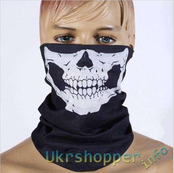 DD4: Байкерский шарф с черепами - всего за    />,99