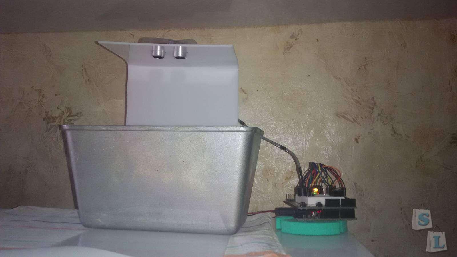 Ebay: Ультразвуковой датчик HC-SR04: А у вас тесто убежало ;)