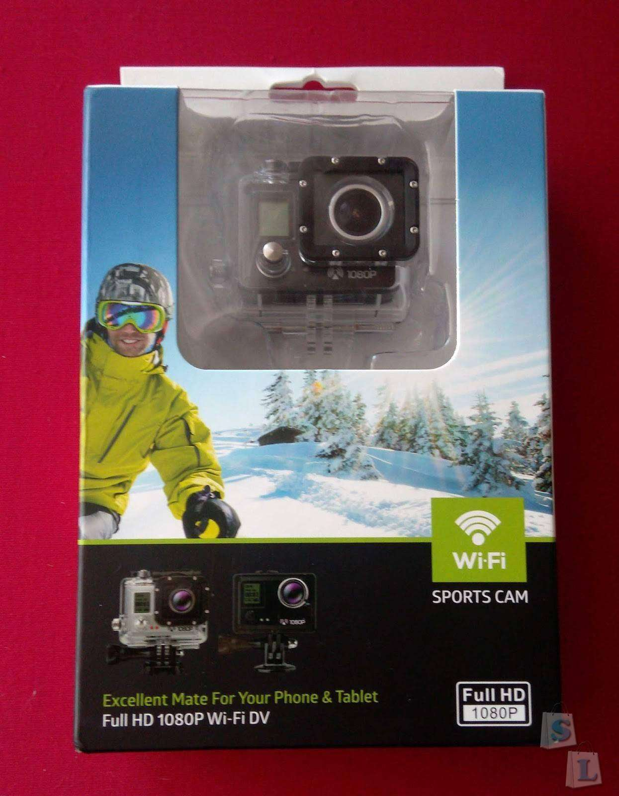 GearBest: Amkov AMK5000S Wireless WiFi Waterproof Sports Action Camera