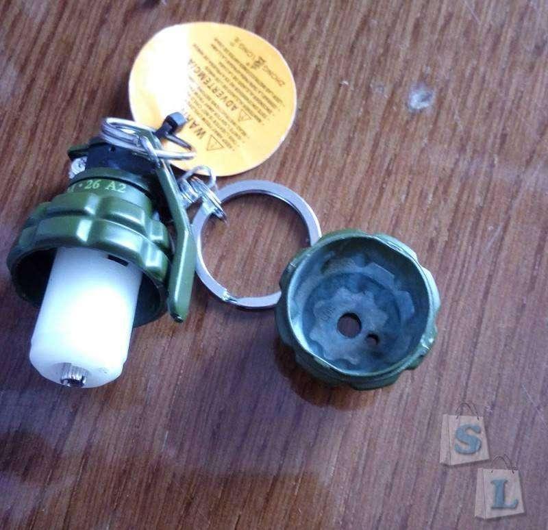 TinyDeal: Симпатичная зажигалка в форме лимонки