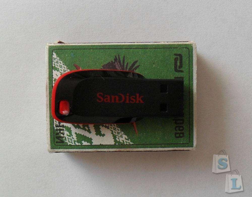 TinyDeal: SanDisk 16GB USB 2.0 по хорошей цене.