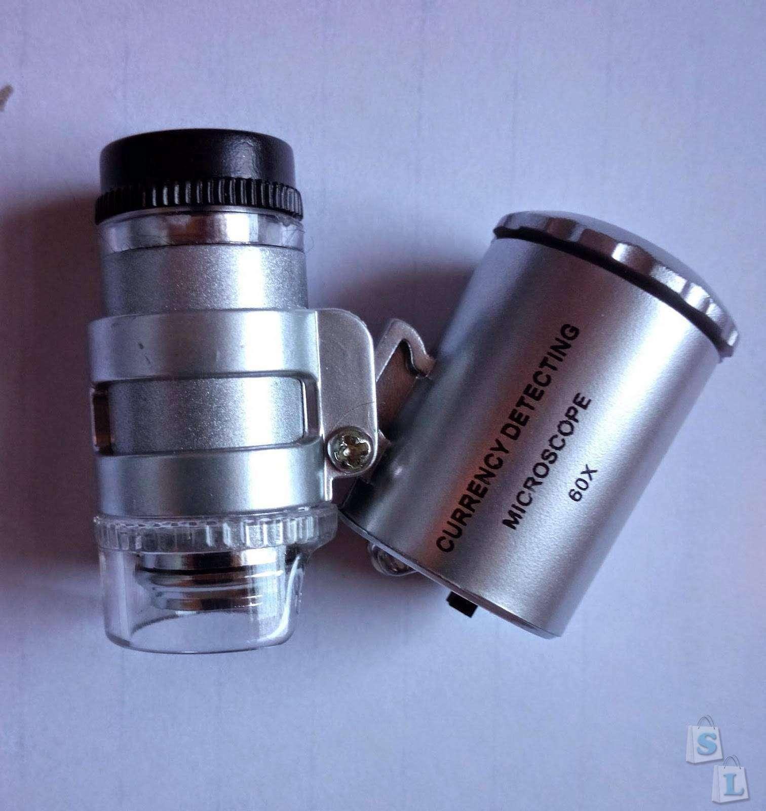 TinyDeal: Лупа с подсветкой или мини микроскоп
