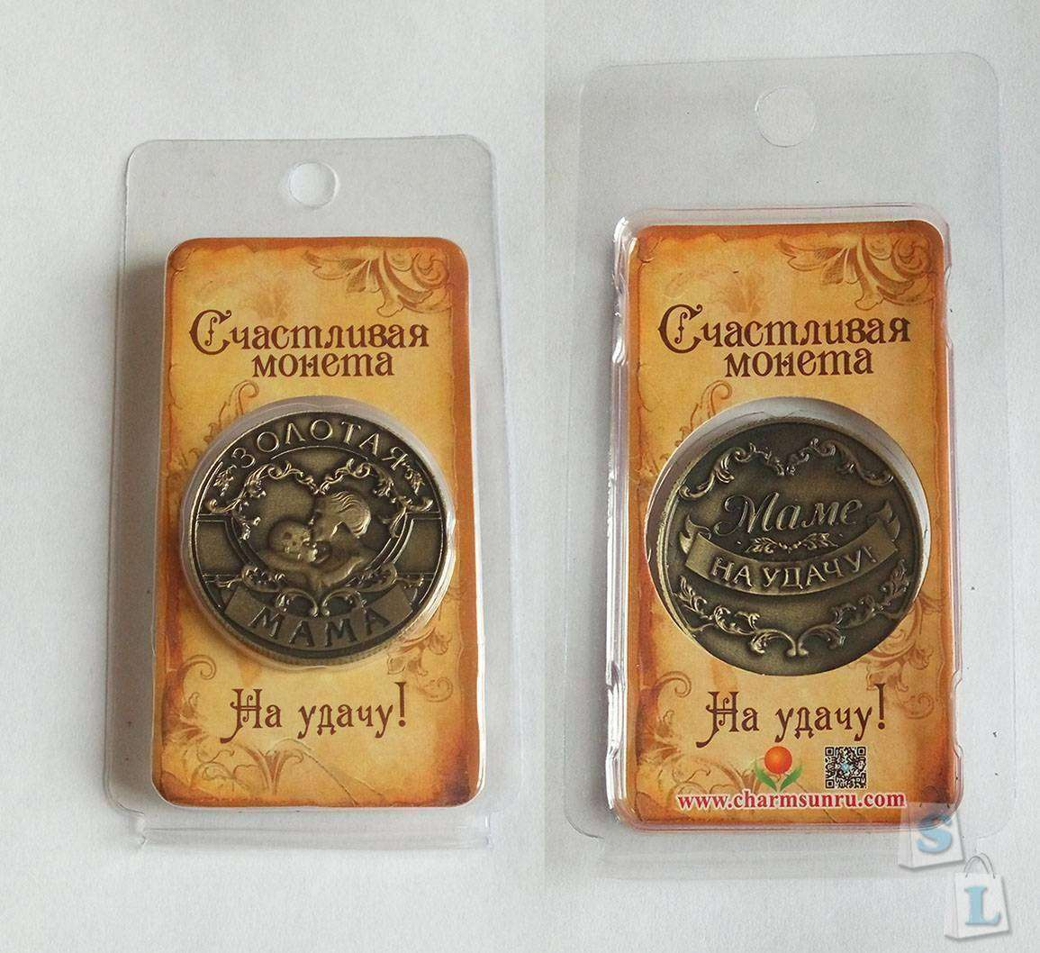 Aliexpress: Счастливая монета 'Золотая Мама'