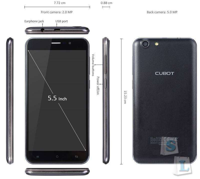 GearBest: CUBOT NOTE S 3G Phablet
