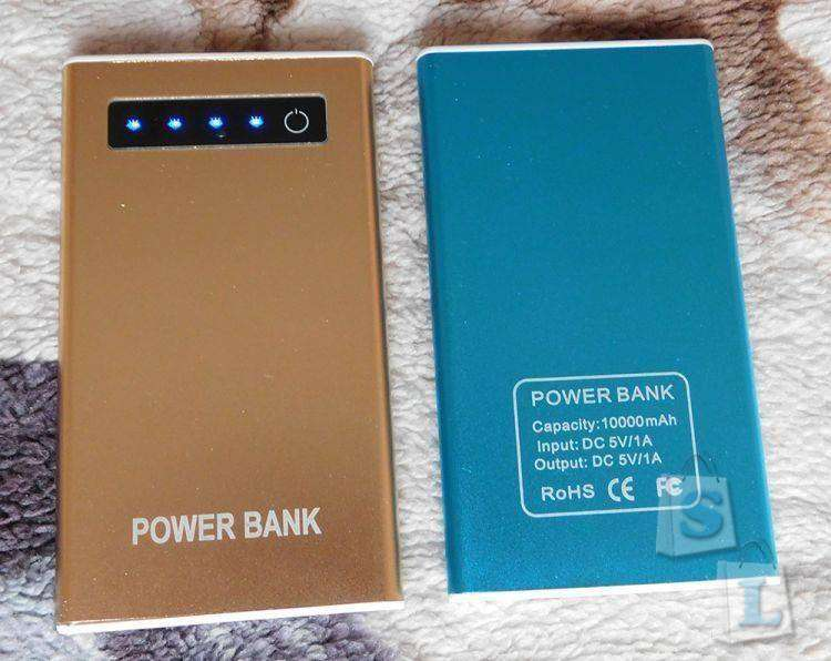 JD.com: Power Bank типа на 10000mAh.