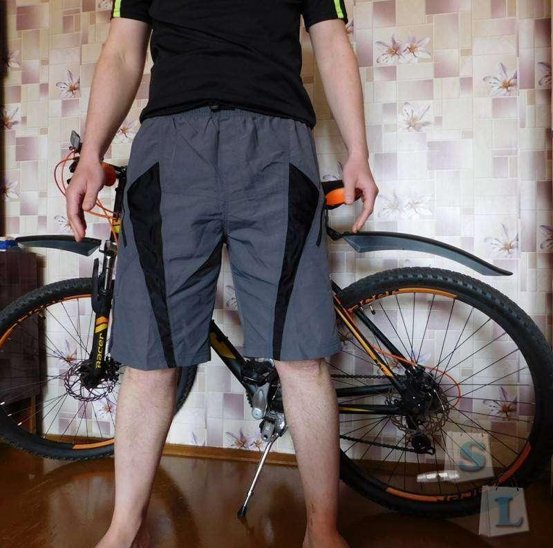 Banggood: Мужские велошорты от Santic