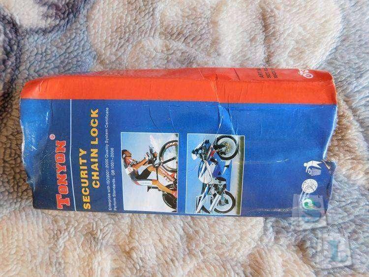 Banggood: Кодовый замок для велосипеда Tonyon