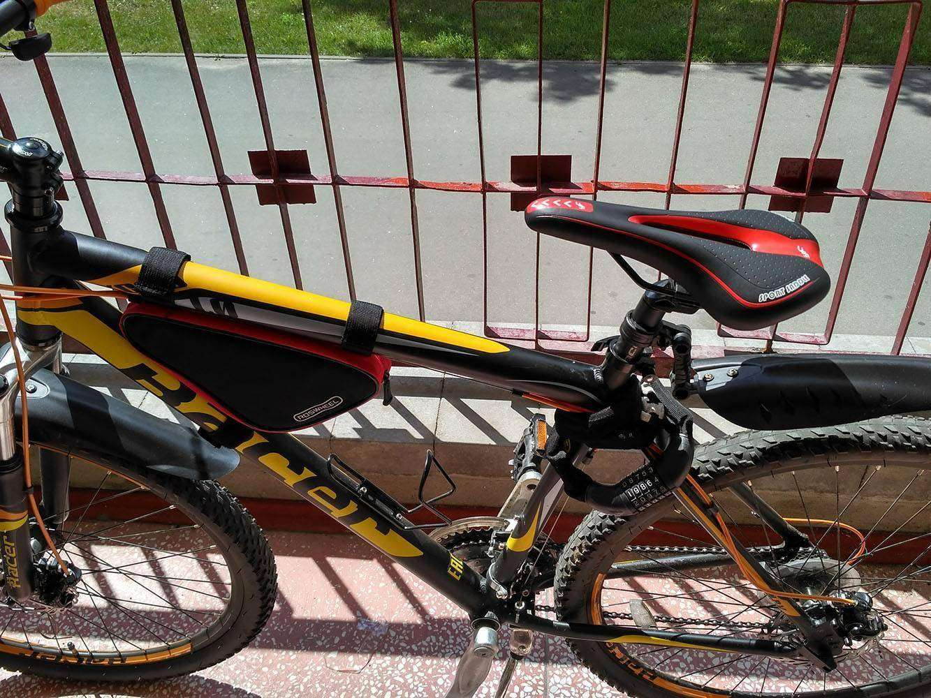 GearBest: Китайское вело седло - недорогое