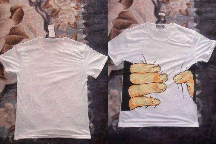 BuyinCoins: Дешевая футболка с оригинальным принтом