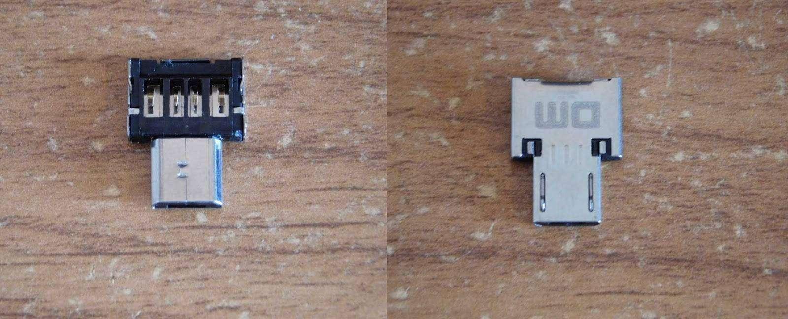 GearBest: USB OTG адаптер DM