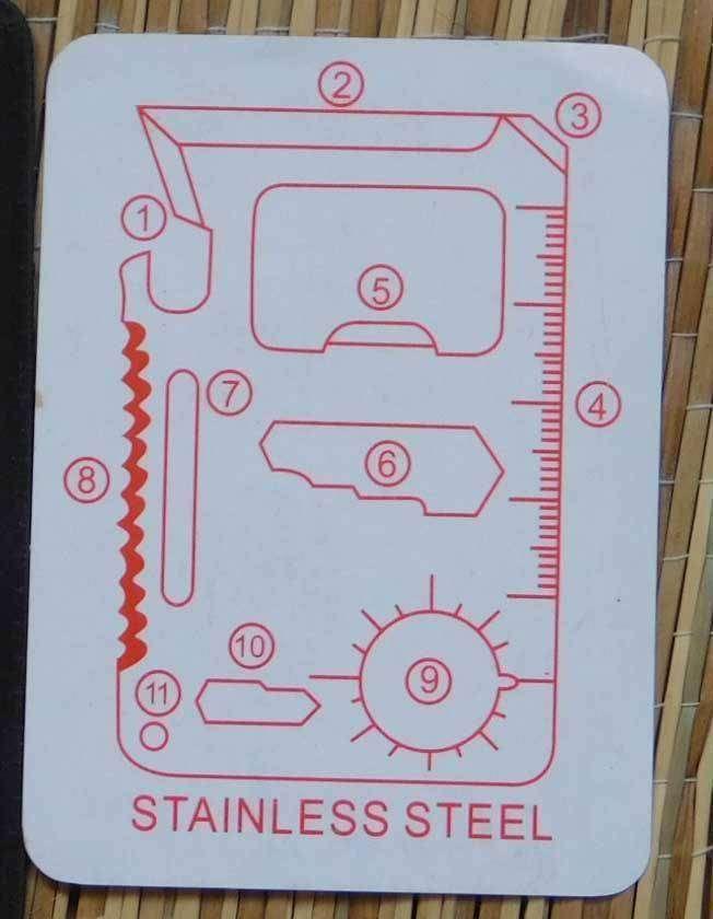 GearBest: Универсальный мини инструмент 11 в 1