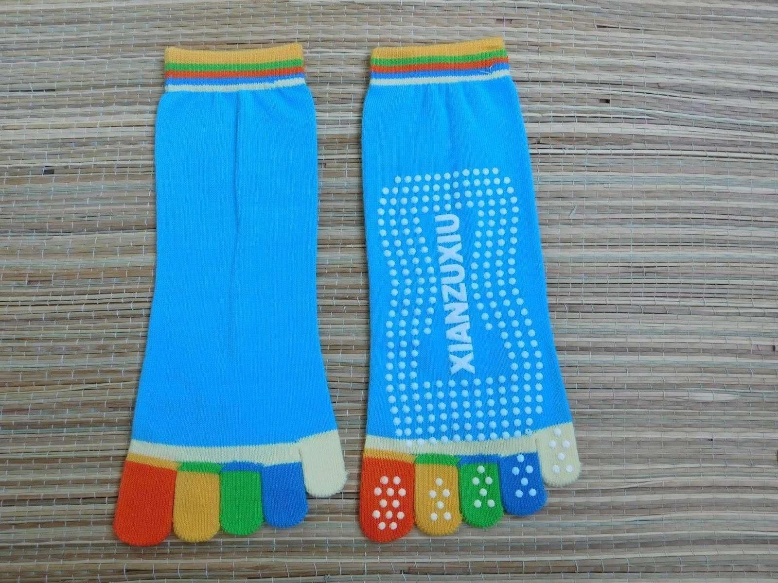 GearBest: Женские носки с раздельными пальцами Xianzhuxiu Yoga