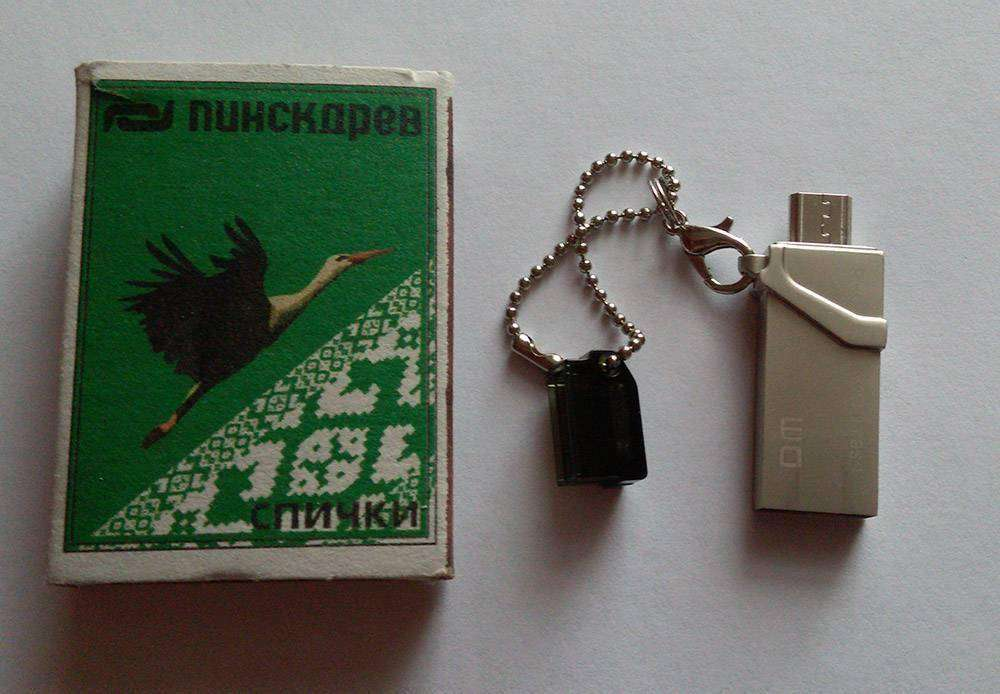 Banggood: DM PD008 Micro USB to USB 3.0 16G и OTG