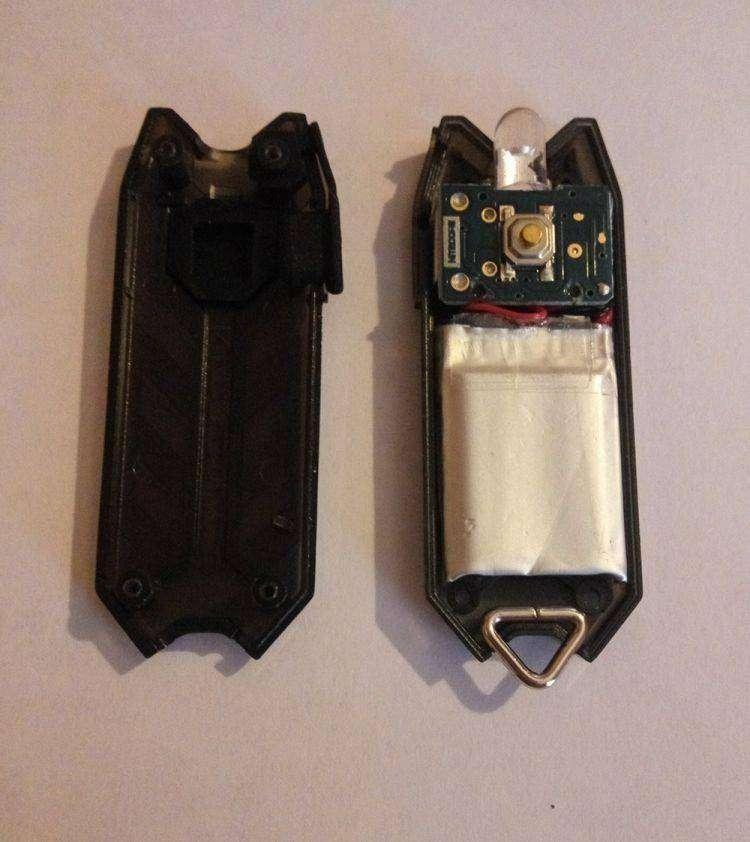 JD.com: Маленький фонарик-брелок на аккумуляторе