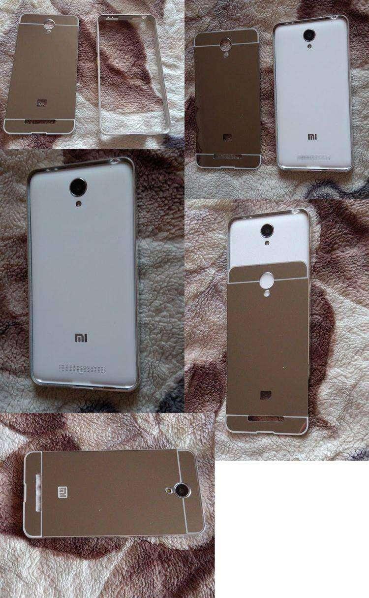 Aliexpress: Зеркальный чехол-бампер для Xiaomi Redmi Note 2